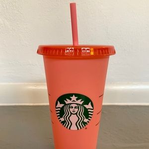 NEW PINK Starbucks 2020 Color Changing Cold Cup